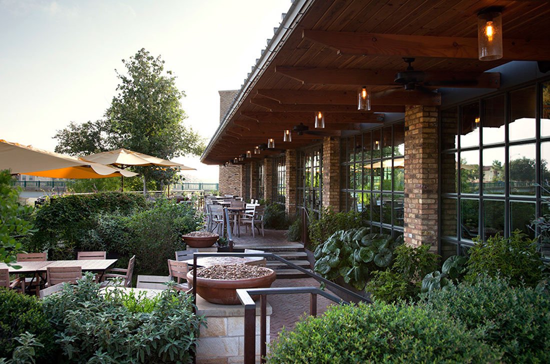 Gorgeous landscaping. Interior Mexican food. Fantastic outdoor dining patio.
